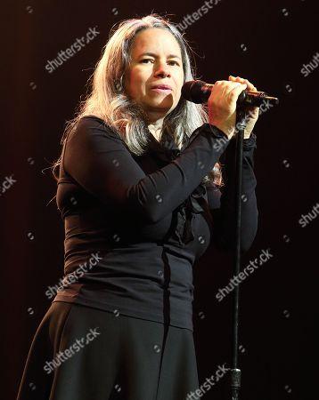 Singer-songwriter Natalie Merchant performs in concert at the American Music Theater, in Lancaster, Pa