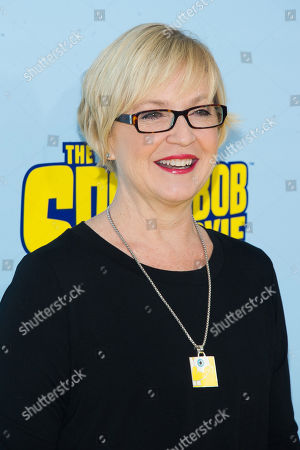 """Carolyn Lawrence attends the world premiere of """"The Spongebob Movie: Sponge Out Of Water"""" at AMC Lincoln Square, in New York"""