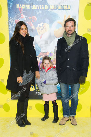 """Editorial image of NY World Premiere Of """"The Spongebob Movie: Sponge Out Of Water"""", New York, USA - 31 Jan 2015"""