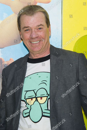 "Rodger Bumpass attends the world premiere of ""The Spongebob Movie: Sponge Out Of Water"" at AMC Lincoln Square, in New York"