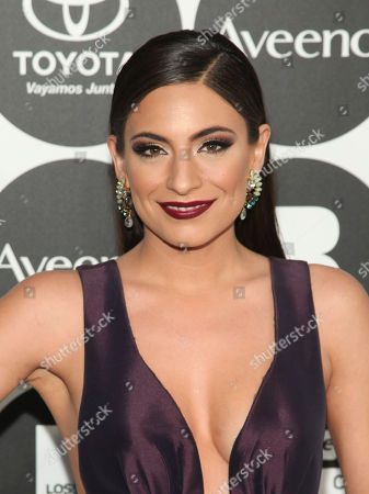 "Ana Brenda Contreras attends People en Espanol's ""50 Most Beautiful Awards"" at IAC, in New York"