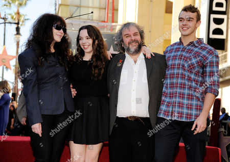 Editorial image of Peter Jackson Honored With A Star On The Hollywood Walk Of Fame, Los Angeles, USA - 8 Dec 2014