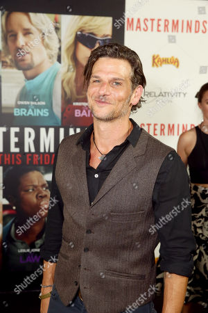 """Mark Kassen seen at Relativity Studios Presents """"Mastermind"""" Los Angeles Premiere at TCL Chinese Theatre, in Hollywood"""
