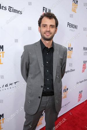 "Director/Writer/Producer Jonas Cuaron seen at STX Entertainment's Premiere of ""Desierto"" at 2016 LA Film Festival Closing Night, in Culver City, Calif"