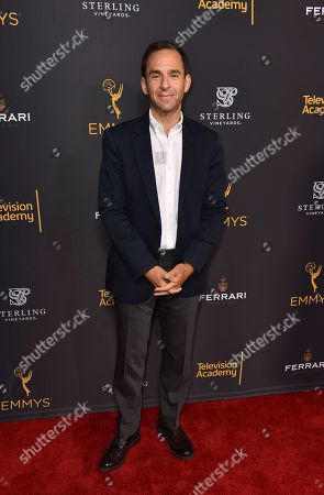 Tom Lassally attends the Television Academy's 2016 Producers Nominee Reception at the Montage Hotel, in Beverly Hills, Calif