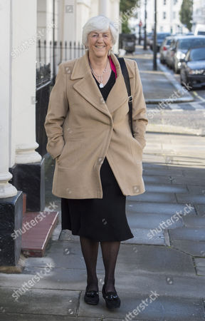 Lady Brittan Of Spennithorne Widow Of Lord Leon Brittan Leaving Her Home In Pimlico To Join Sir Cliff Richard At A Meeting With Mps At The House Of Commons To Argue For Anonymity For Those Who Are Accused Of Sex Abuse Before They Are Charged. 17/10/2016.