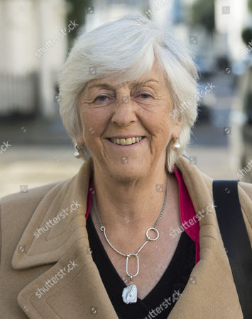 Stock Photo of Lady Brittan Of Spennithorne Widow Of Lord Leon Brittan Leaving Her Home In Pimlico To Join Sir Cliff Richard At A Meeting With Mps At The House Of Commons To Argue For Anonymity For Those Who Are Accused Of Sex Abuse Before They Are Charged. 17/10/2016.