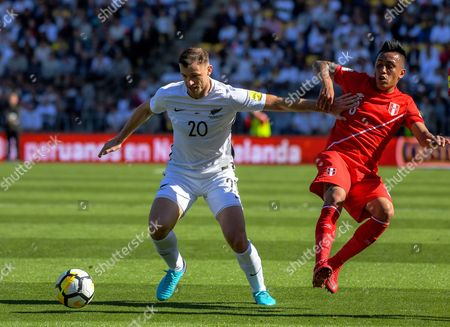 Editorial photo of New Zealand v Peru, FIFA World Cup Qualifying - OFC/Conmebol Play-off, International Football,  Westpac Stadium, Wellington, New Zealand - 11 Nov 2017