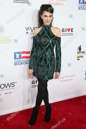 Editorial photo of 11th Annual Stand Up for Heroes, presented by the New York Comedy Festival and The Bob Woodruff Foundation, Arrivals, New York, USA - 07 Nov 2017
