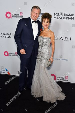 Stock Photo of Helmut Huber and Susan Lucci