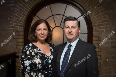 Douglas Alexander MP with his wife Jacqueline Alexander.
