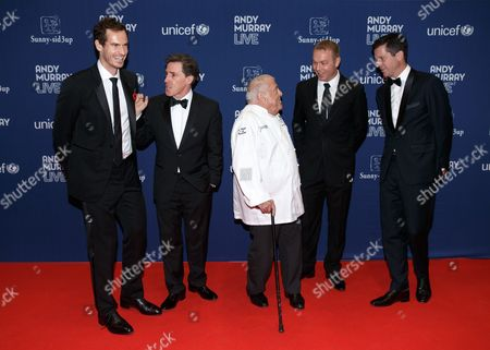 Sir Andy Murray, Actor Rob Brydon, Chef Albert Roux, Sir Chris Hoy and former tennis player Tim Henman.