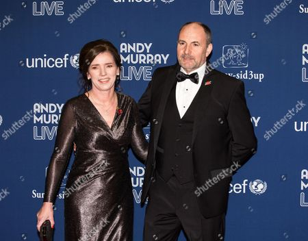Will Murray with his wife Sam Murray