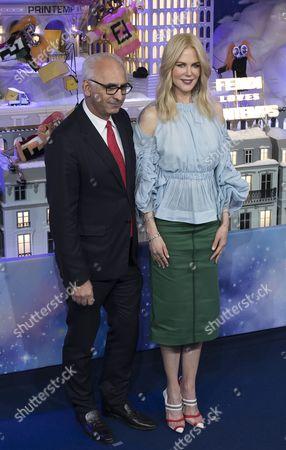 Nicole Kidman and Paolo De Cesare