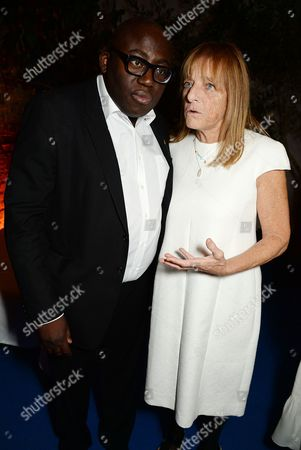 Edward Enninful and Ruth Rogers