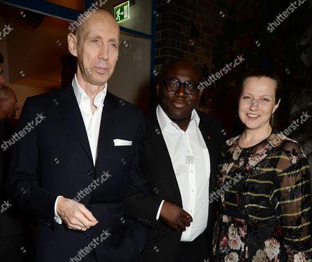 Nick Knight, Edward Enninful and Charlotte Knight