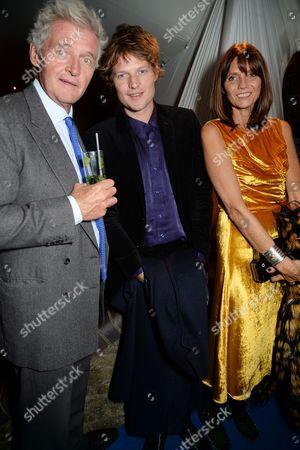 Editorial image of Edward Enninful dinner celebrating the December issue of British Vogue, The River Cafe, London, UK - 07 Nov 2017