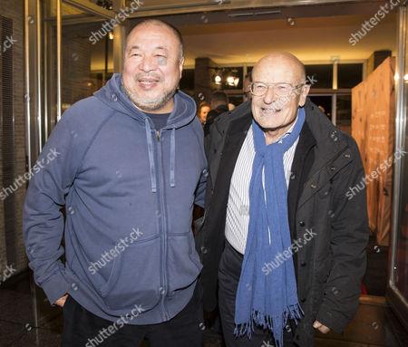 Ai Weiwei and Volker Schloendorff