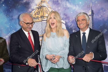 Paolo De Cesare, Nicole Kidman and Antonio Belloni