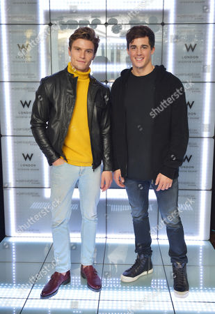 Oliver Cheshire and Pietro Boselli