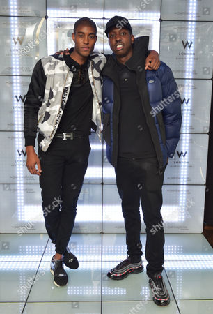 Stefan-Pierre Tomlin and Jamal Edwards