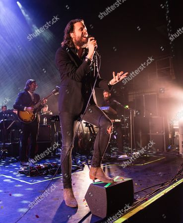 Stock Photo of Father John Misty performing - Joshua Tillman