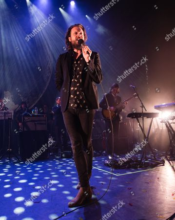 Stock Image of Father John Misty performing - Joshua Tillman