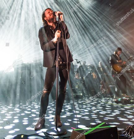 Stock Picture of Father John Misty performing - Joshua Tillman