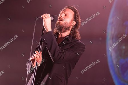 Editorial photo of Father John Misty in concert at Eventim Apollo  in London, UK - 07 Nov 2017