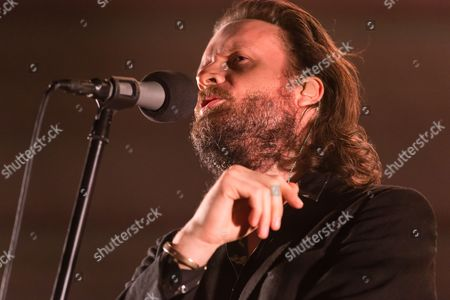 Editorial image of Father John Misty in concert at Eventim Apollo  in London, UK - 07 Nov 2017