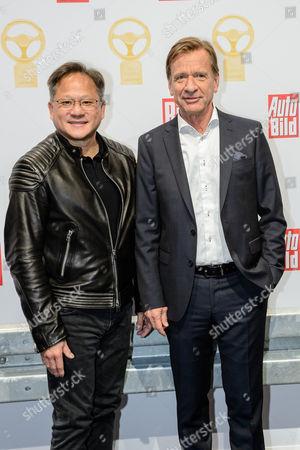Jensen Huang and Hakan Samuelsson