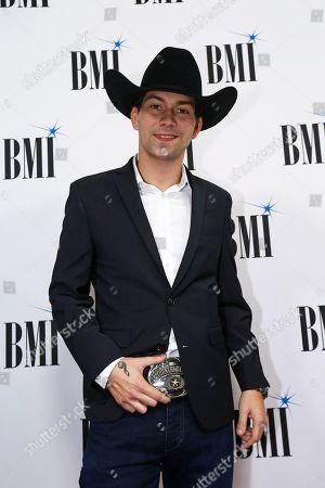 William Michael Morgan arrives at BMI Awards at BMI Nashville, in Nashville, Tenn