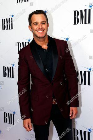 Easton Corbin arrives at the BMI Awards at BMI Nashville, in Nashville, Tenn