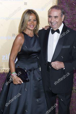Stock Image of Beatriz Trapote and Pedro Trapote