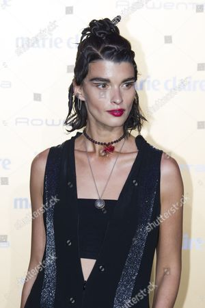 Stock Photo of Crystal Renn