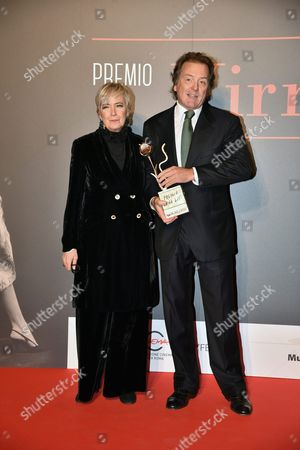 Corrado Pesci and Piera Detassis