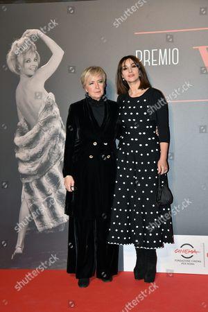 Piera Detassis and Monica Bellucci
