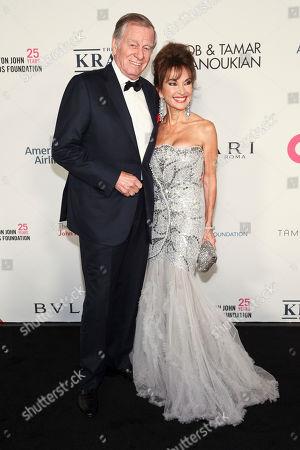 Editorial image of Elton John AIDS Foundation's 25th Anniversary Gala, New York, USA - 07 Nov 2017