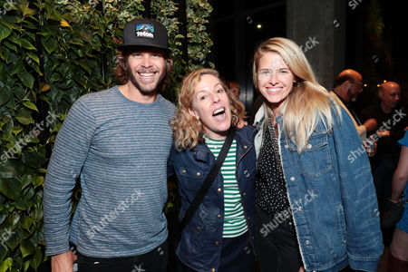 Eric Christian Olsen, Pam Brady - Exec. Producer and Sarah Wright