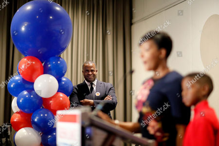 Stock Image of Kasim Reed, Keisha Lance Bottoms. Atlanta Mayor Kasim Reed, left, watches as city councilwoman and mayoral candidate Keisha Lance Bottoms speaks at an election night party in Atlanta, early . Nearly a dozen candidates are competing to succeed term-limited Reed. With so many contenders running, it's a safe bet that some of these elections won't be settled Tuesday. For any race in which no candidate wins more than 50 percent of the vote, the top two finishers will return for a runoff election Dec. 5