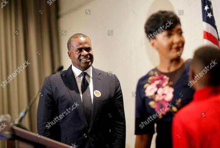 Editorial photo of Mayor, Atlanta, USA - 08 Nov 2017