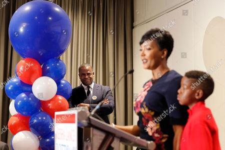 Editorial image of Mayor, Atlanta, USA - 08 Nov 2017