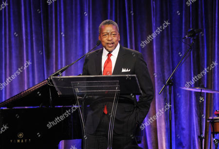 CEO of RLJ Companies Robert L. Johnson speaks on stage the 2012 Malaria No More International Honors on in New York