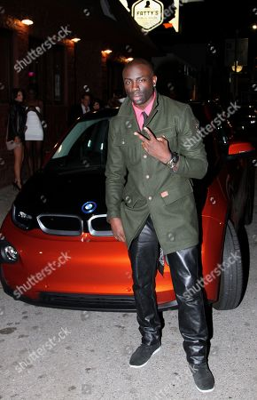 Sam Sarpong seen arriving at 2013 Men's Style Fashion Awards Honoring Sam Sarpong at Fatty's Bar and Restaurant on Saturday, Dec.21, 2013, in West Hollywood. California