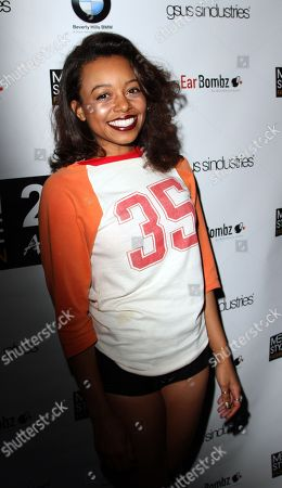 """Actress Lauren Pennington seen at 2013 Men's Style Fashion Awards honoring Sam Sarpong """"Star of The Year"""" at Fatty's Bar and Restaurant on Saturday, Dec.21, 2013, in West Hollywood. California"""