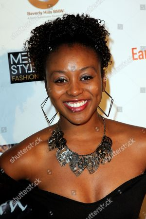 """Actress Shanell Mondane seen at 2013 Men's Style Fashion Awards honoring Sam Sarpong """"Star of The Year"""" at Fatty's Bar and Restaurant on Saturday, Dec.21, 2013, in West Hollywood. California"""