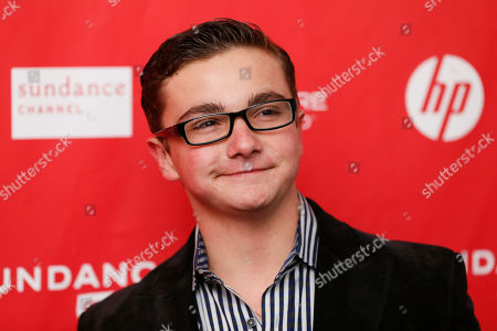 "Cast member Paulie Litt poses at the premiere of ""The Lifeguard"" during the 2013 Sundance Film Festival on in Park City, Utah"