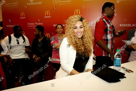 Keke Wyatt attends the 2014 Essence Music Festival Concert - Day 2 at the Ernest N. Morial Convention Center, in New Orleans LA