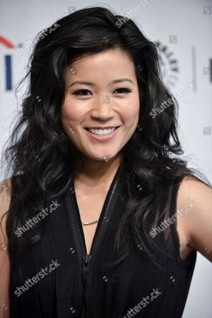 Jadyn Wong arrives at the 2014 PALEYFEST Fall TV Previews - CBS, in Beverly Hills, Calif