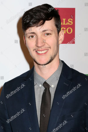 """Rhys Ernst attends the Point Foundation's """"Point Honors 2015 New York Gala"""" at The New York Public Library, in New York"""